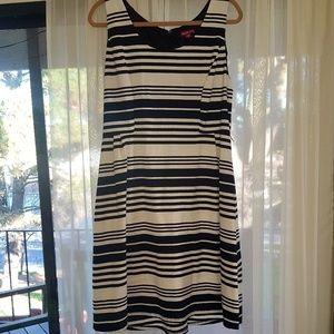NWOT Black and White Dress